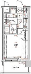 アクロス新宿[303号室]の間取り