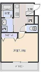 ヴィレッジ加綾北本町[1階]の間取り