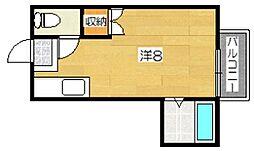 加茂ハイツ[2階]の間取り