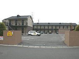 ベルメゾンTTB棟[2階]の外観