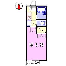 ナイスワン青山IV[105号室]の間取り
