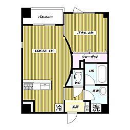 仮 高島平1丁目 大和ハウス施工 新築賃貸マンション[5階]の間取り