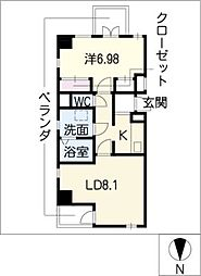 acer[4階]の間取り