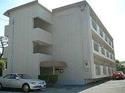福岡県久留米市篠山町の賃貸マンションの外観