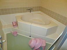 海の見える浴室