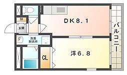 ラベンダーハウス[2階]の間取り