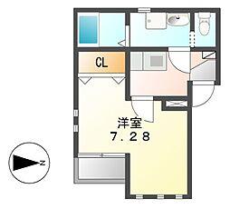 Soleil Levant2[2階]の間取り