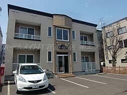 北海道札幌市東区北二十六条東9丁目の賃貸アパートの外観