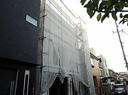 神奈川県川崎市幸区古市場2丁目の賃貸マンションの外観