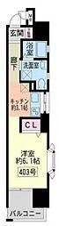 兵庫県神戸市東灘区岡本1丁目の賃貸マンションの間取り