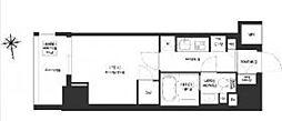 JR総武線 浅草橋駅 徒歩8分の賃貸マンション 13階1Kの間取り