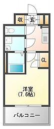 WGB江坂[2階]の間取り