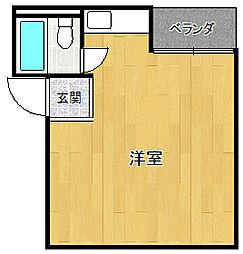 エステイトFUKUI[4階]の間取り