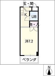 ANNEX YASUI[4階]の間取り
