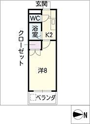 U・TOPIA60[2階]の間取り