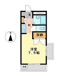 和浩ビル[4階]の間取り