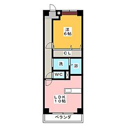 エトワ−ルIWAKURA[2階]の間取り