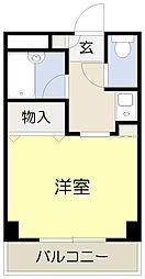 ベルビューレ千里山壱番館[106号室]の外観