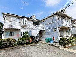 神奈川県藤沢市弥勒寺4丁目の賃貸アパートの外観