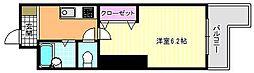 シーダー針中野[6階]の間取り