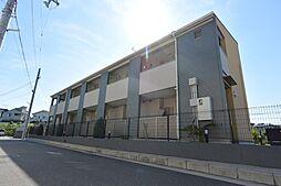 大阪府枚方市山之上2丁目の賃貸アパートの外観
