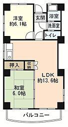 ソフィアコート古江東[2階]の間取り