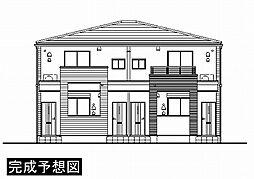 埼玉県さいたま市岩槻区大字本宿の賃貸アパートの外観