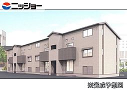 仮)姫小川町新築アパート東棟[2階]の外観