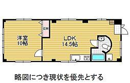 愛知県名古屋市昭和区元宮町6丁目の賃貸マンションの間取り