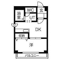 藤屋ビルII[3階]の間取り