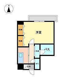 アプレシオ八田[8階]の間取り