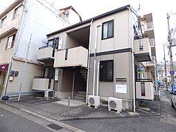 兵庫県神戸市中央区神若通4丁目の賃貸アパートの外観