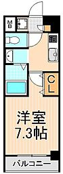 WAVE西新井[303号室]の間取り
