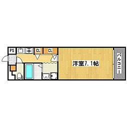 サムティ本町橋[6階]の間取り
