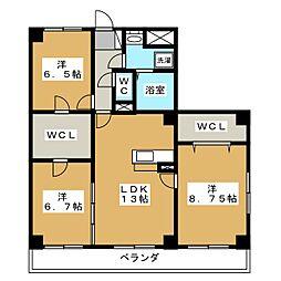 Refuge・F[1階]の間取り