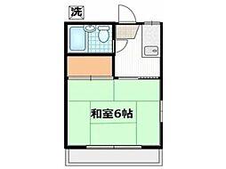 トーシンコーポ[1階]の間取り