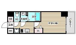 プレサンス梅田北ディア[2階]の間取り