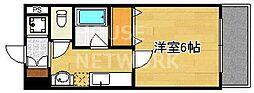 S-FORT京都西大路(旧グランドパレス西大路七条)[408号室号室]の間取り