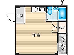 JPアパートメント旭II[2階]の間取り