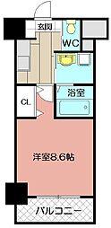 ラファエロ[203号室]の間取り