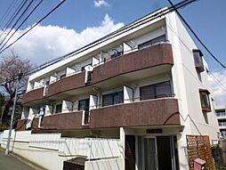 東京都調布市東つつじケ丘3丁目の賃貸マンションの外観