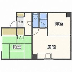 みちマンション[2階]の間取り