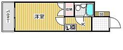 ダイドーメゾン兵庫本町[6階]の間取り