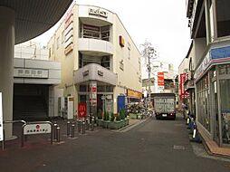 神奈川県川崎市幸区東小倉の賃貸マンションの外観