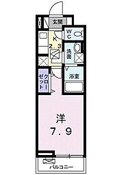 ラフィーネIII[105号室]の間取り