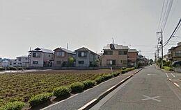 北側道路8M