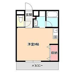 花みづきビル[3階]の間取り