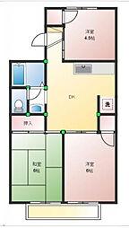 プレール網干II A棟[1階]の間取り