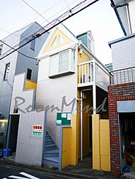 神奈川県横浜市神奈川区幸ケ谷の賃貸アパートの外観
