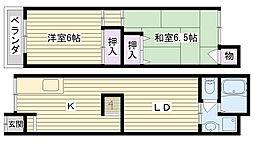 [一戸建] 大阪府大阪市鶴見区緑1丁目 の賃貸【/】の間取り